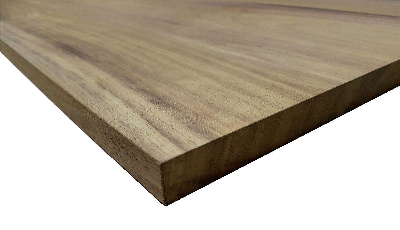 Piano Tavolo in Legno Massello Iroko spessore 3 cm Varie Misure Disponibili