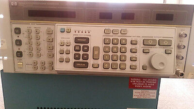 Agilent 8663a Synthesized Signal Generator Opt 002 003