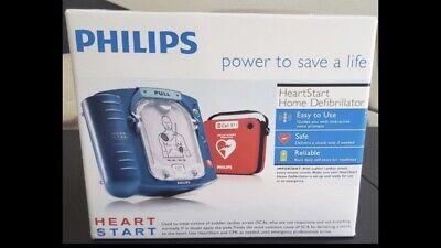 Philips Heartstart Home Defibrillator Aed Brand New Sealed Unopened Box