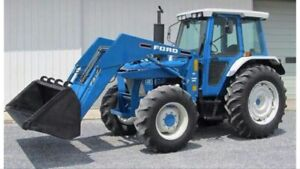 WANTED Ford 4wd tractor