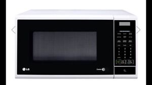 LG 25L 850w white microwave Cronulla Sutherland Area Preview