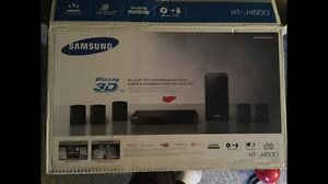 Samsung home entertainment system with Blu ray