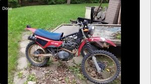 Wanted project boat atv dirtbike etc snowblower