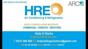 Heating , Cooling or Electrical Call HRE Wollongong Wollongong Area Preview