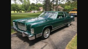 Wanted: 1973 to 1976 Lincoln town coupe or town car