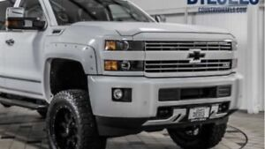2015-18 Chevy Silverado 3500 white out package