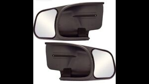 Mirror extensions for trailering