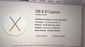 Latest macbook pro 15 retina Enfield Burwood Area Preview