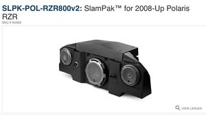 JL Audio Slampak stereo for Polaris RZR