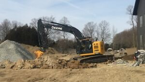 Excavating,grading,demolition, ponds etc