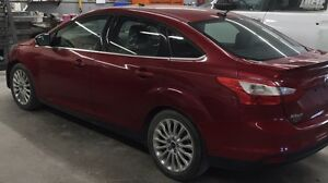 2012 Ford Focus Titanium - Winter Tires, Lthr Seats, Touchscreen