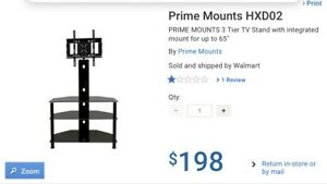 Tv stand with tv mount Brand new in box