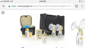 Medela freestyle double electric breast pump