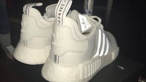NMD R1 All white- Size 12