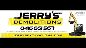 JERRY'S DEMOLITIONS NEWCASTLE Newcastle Newcastle Area Preview