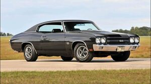 Looking for 1970 - 71 Chevelle