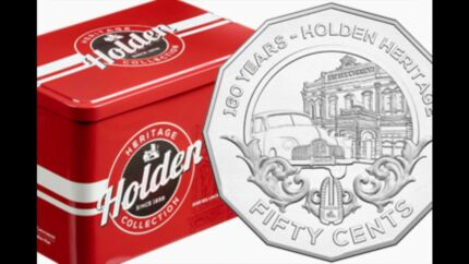 Holden heritage coins x12