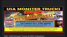 3 X  USA Monster Trucks Event tickets Springfield Lakes Ipswich City Preview