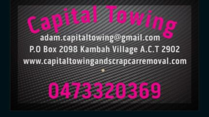 Towing  from $70 & cash for unwanted cars