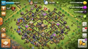 TH 11 Clash of clan for sale