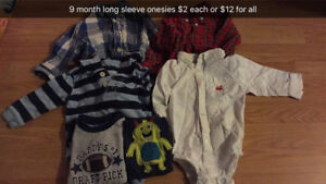 Baby boy clothes 9-12