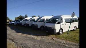 Mini van bus hire rent