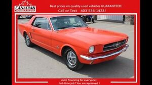 1965 Ford Mustang All original $15900 Financing available