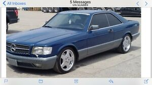 1986 mercedes-benz 560sec mint condition