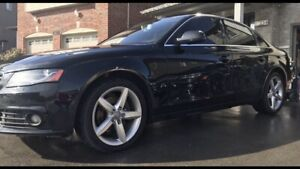 2011 Audi A4 Quattro (AWD) 2.0T - Immaculate, New Tires & Clutch