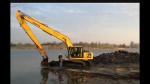 LONG REACH EXCAVATOR WET AND DRY HIRE Muswellbrook Muswellbrook Area Preview