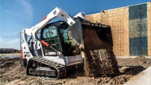 Bobcat Service: Snow Removal, Earth Moving & Grading