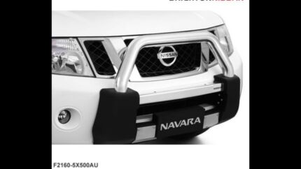 Nissan Navara D40 Nudge Bar Brand New Genuine