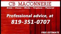 Masonry specialists available / 819-351-0707