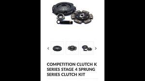 Comp clutch k series stage 4 clutch