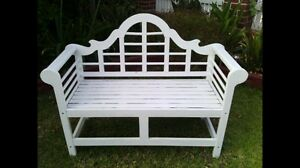 WHITE GARDEN CHAIR **$150 Holsworthy Campbelltown Area Preview