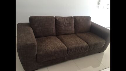 Wanted: Large comfy chocolate sofa