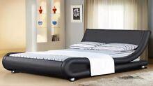 "BRAND NEW Modern PU Leather Bed Frames ""MELISSA"" Italian design Reservoir Darebin Area Preview"
