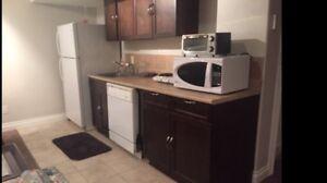 Three bedroom basement suite for rent now