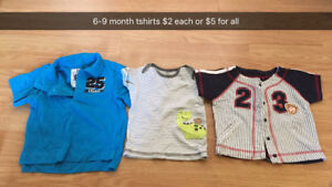 Baby boy clothes 6-9