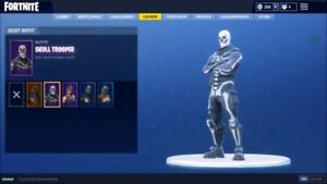 FORTNITE ACCOUNT with skull trooper
