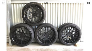 Vertini concave 19 inch wheel and new tyres Drewvale Brisbane South West Preview