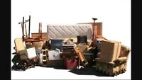 Unwanted junk removal and garbage removal
