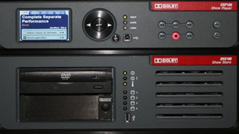 Dolby DCP100  DSS 100 Cinema Server With Warranty ( We Can Buy Sell Rent Yr Sur+