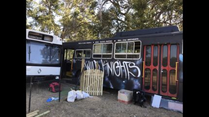 Bus / transportable accommodation/ man cave