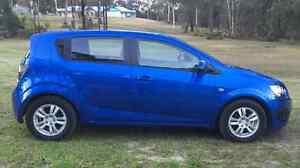 2013 Holden Barina TM MY14CD Blue 6 Speed Auto Hatchback East Kurrajong Hawkesbury Area Preview