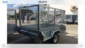 8X5 GAL DIP  BOX TRAILER Clontarf Redcliffe Area Preview