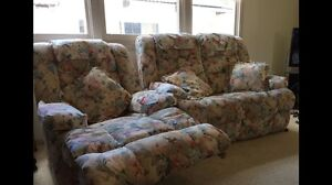 2 Seater Lounge/Sofa + Recliner Sans Souci Rockdale Area Preview