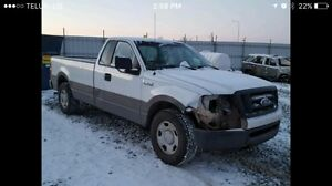 2007 Ford F-150 salvage title