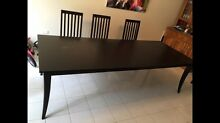 Wooden dining table Terrigal Gosford Area Preview