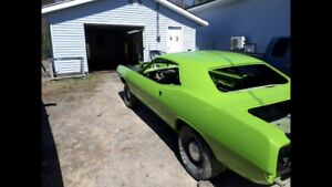 1974 Cuda 440 4 speed project